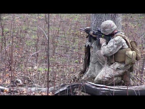 U.S. Marines 26th MEU Live Fire Training