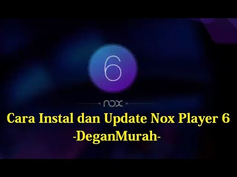 cara update nox 6.0.0.0 terbaru dan cara memindahkan file ke nox