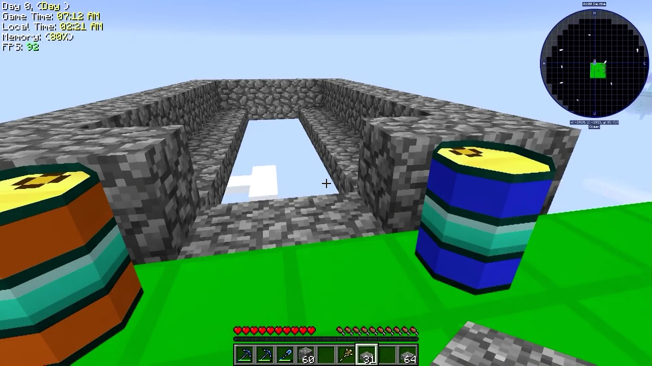 Ore Excavation Friendly Cobble Generator: Modded Skyblock!