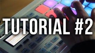 Maschine Mikro Tutorial #2: Recording Patterns