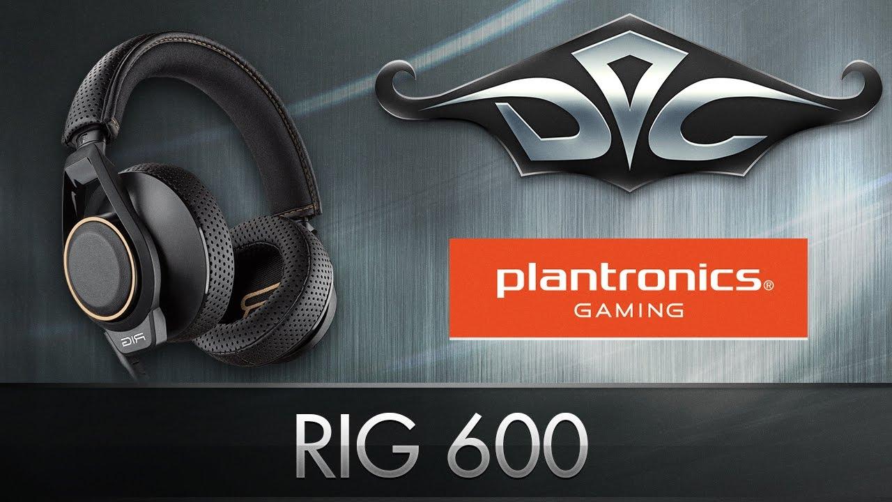 Подробный обзор кроссплатформенной гарнитуры Plantronics RIG 600
