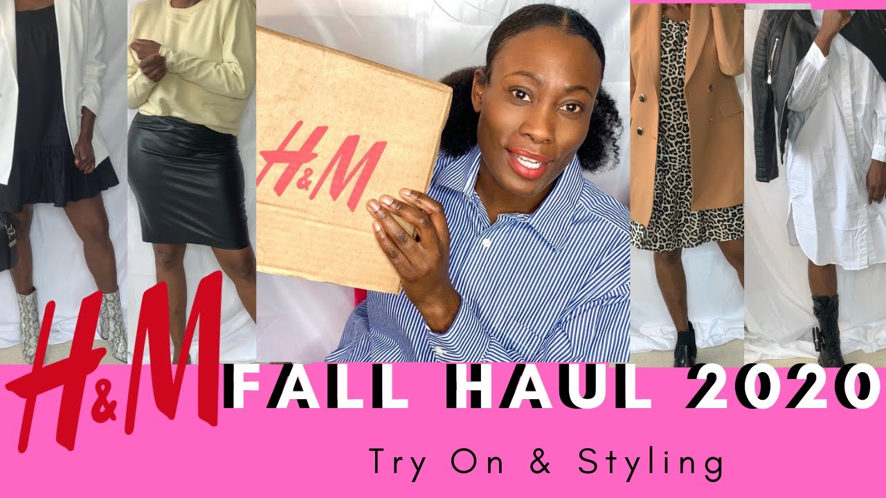 H&M TRY ON FALL HAUL 2020 | TRY ON & STYLING