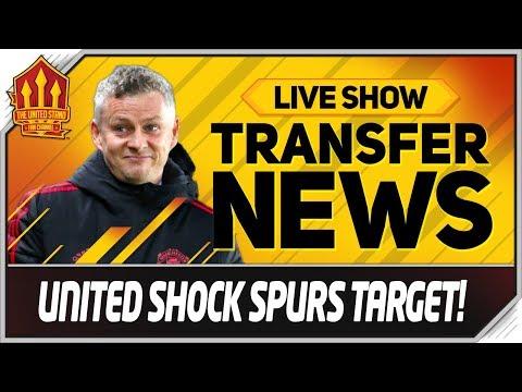Man Utd Shock Transfer Link To Tottenham Star! Man Utd News