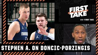 Stephen A.'s sources: Kristaps Porzingis is 'jealous of Luka Doncic and resentful'