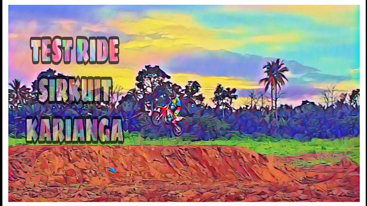 Test Ride Sirkuit Karianga Tobelo