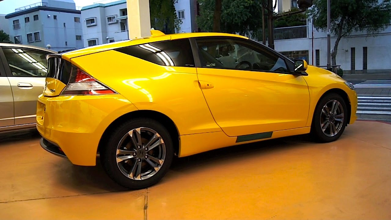 Yellow Cr Z With Black Interior Youtube