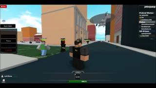 CIA drone in NYC (ROBLOX) abuse