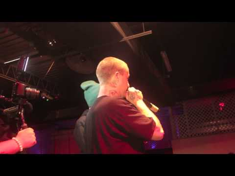 Lil Wyte live performance with Caskey and Shamrock