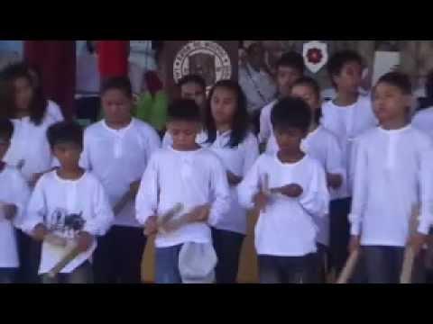 Kalutang Playing in Mogpog (Originated in Bangbang, Gasan, Marinduque)