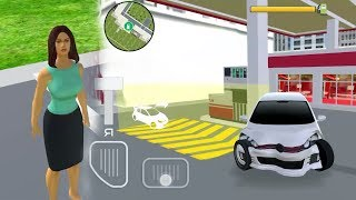 #Car Games Sexy  and beautiful leady driving Car Android  GamesPlay