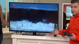 """Gpx 40"""" 1080p Dled W/ Built-in Up-converting Dvd Player With Kerstin Lindquist"""