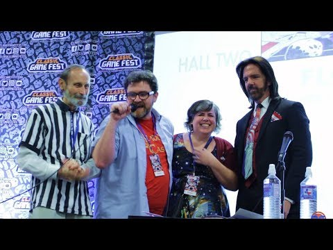 Ernest Cline Meets his Heroes Walter Day and Billy Mitchell at Classic Game Fest
