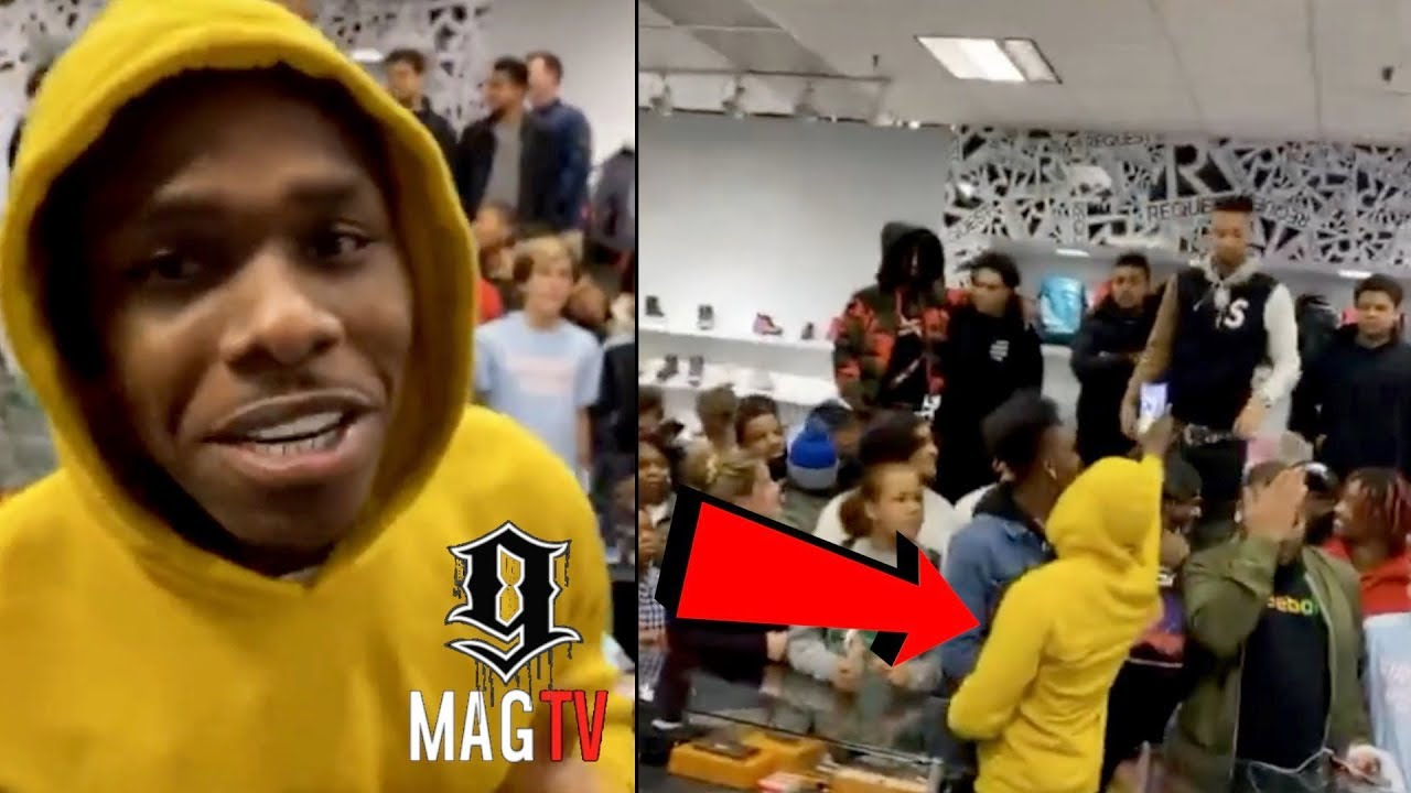 """DaBaby Makes """"DODATCHALLENGE"""" Triller Video At The Mall!"""