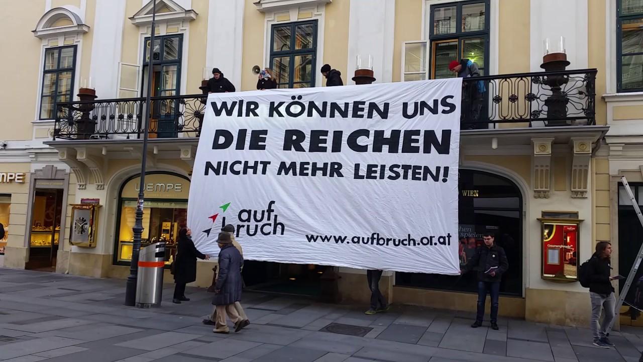 Aufbruch Besetzt Das Casino In Der Wiener Kärntner Straße Youtube