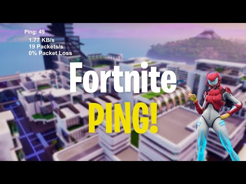HOW TO SEE YOUR PING IN FORTNITE - CHAPTER 2