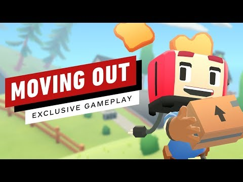 Moving Out: 14 Minutes Of Couch Co-Op Gameplay
