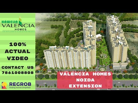 Hawelia Valencia Homes | ☎7861008808 | 2, 3 BHK Flats For Sale In Noida Extension | Actual Video