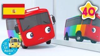 Buster cambia de color | Nanas para bebés | Buster en Español - Little Baby Bum