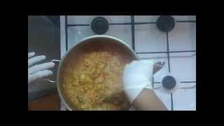 Easy Tasty Recipe Red Rice And Chicken وصفه سهله ولذيذه عيش احمر مع دجاج