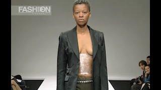 JUNICHI HAKAMAKI Spring Summer 1998 Milan - Fashion Channel