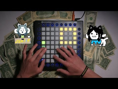 Undertale - Temmie Gets Money For College (Launchpad Cover) Live Performance