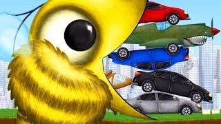 【小熙解说】饥饿的蜜蜂 吞掉养蜂场后遭遇地球防卫军!Tasty Planet Forever