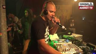 Walshy Fire (Black Chiney Major Lazer) feat. Kabaka Pyramid - Live at Reggae Geel festiva ...