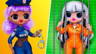 Police Adventures / 11 LOL OMG DIYs
