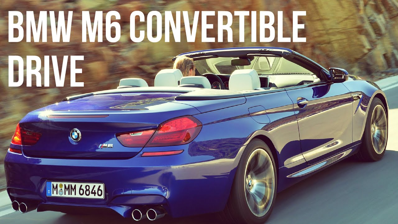 2015 bmw m6 convertible drive youtube. Black Bedroom Furniture Sets. Home Design Ideas