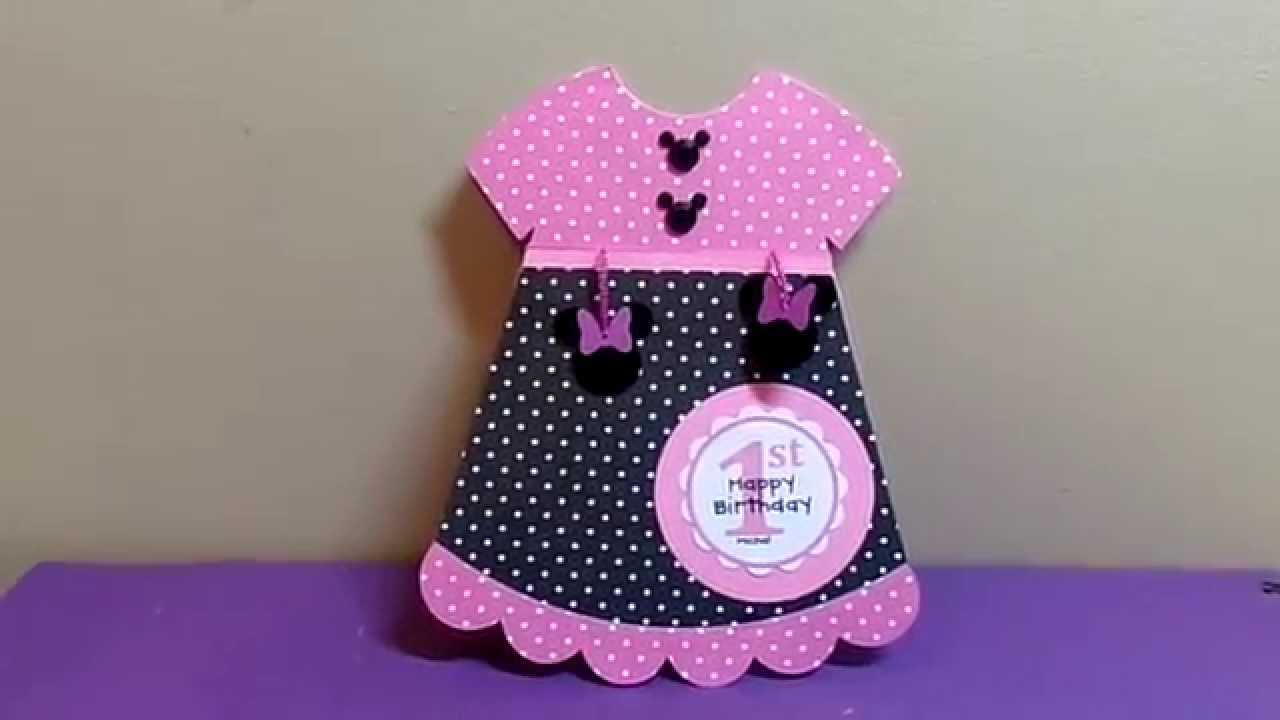First BIrthday Card - YouTube