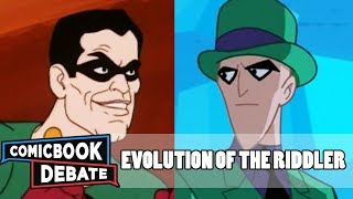 Evolution of the Riddler in Cartoons in 11 Minutes (2018)