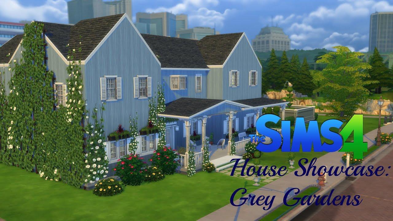 Sims 4 House Showcase Grey Gardens Youtube