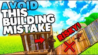 Avoid These Building Mistakes! | Outplay Your Opponents Tips & Tricks | Fortnite Battle Royale