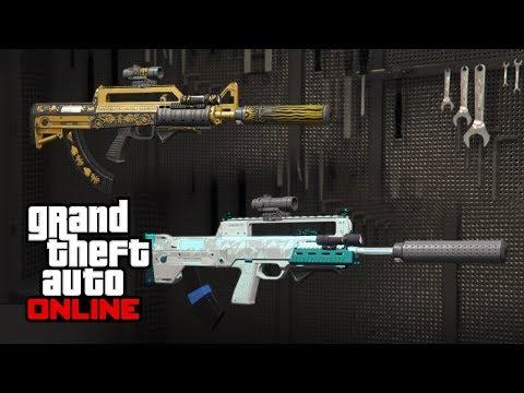 Rockstar Support #12470787 | Yusuf Amir, Mark-II Weapons (Missing Upgrades)