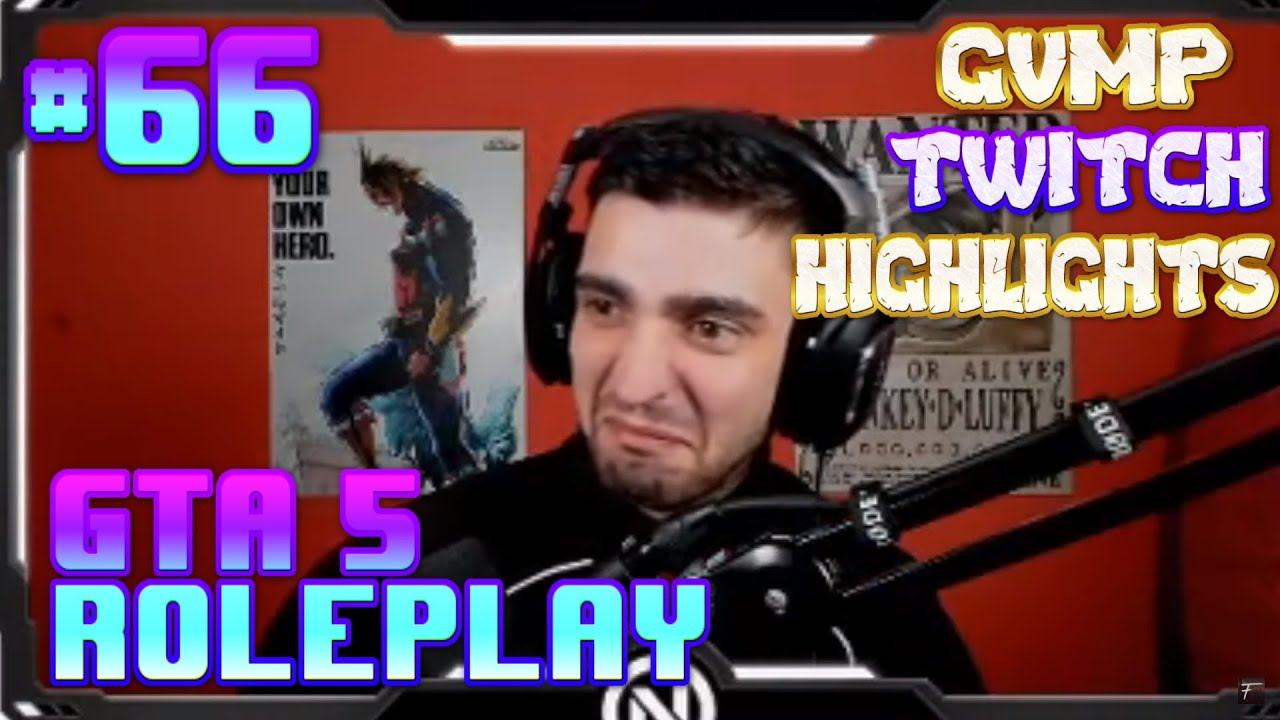 [GVMP.de] BEST OF GTA 5 RP Fails & Twitch Highlights #66