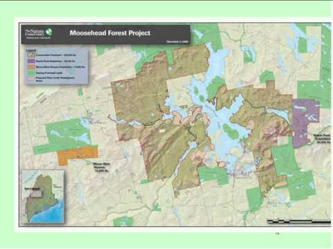 Conservation Finance Forum: Lessons from Moosehead Lake