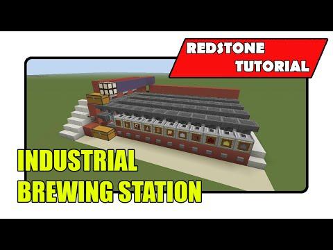 Industrial Brewing Station (Minecraft Xbox TU22/PlayStation CU8)