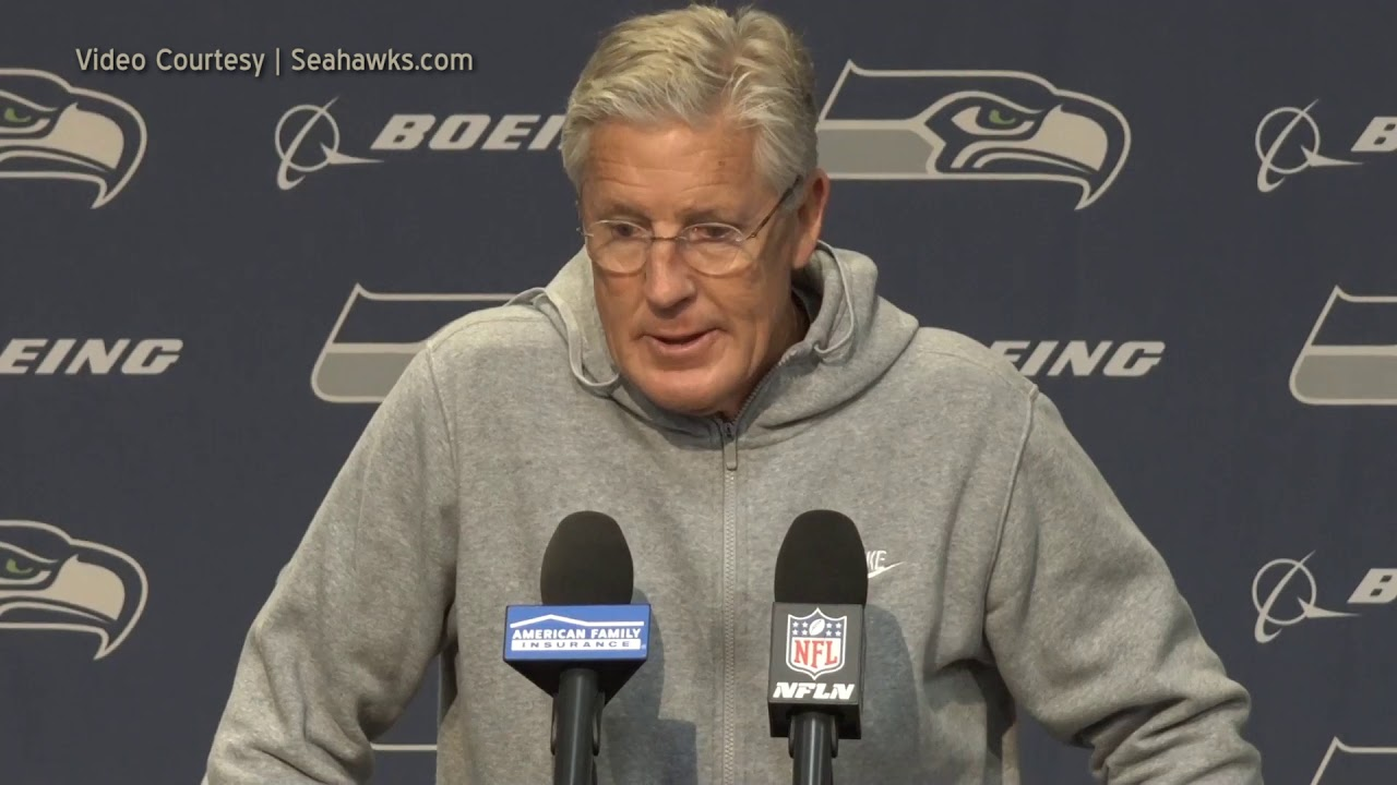Pete Carroll on Eagles 2019-11-20