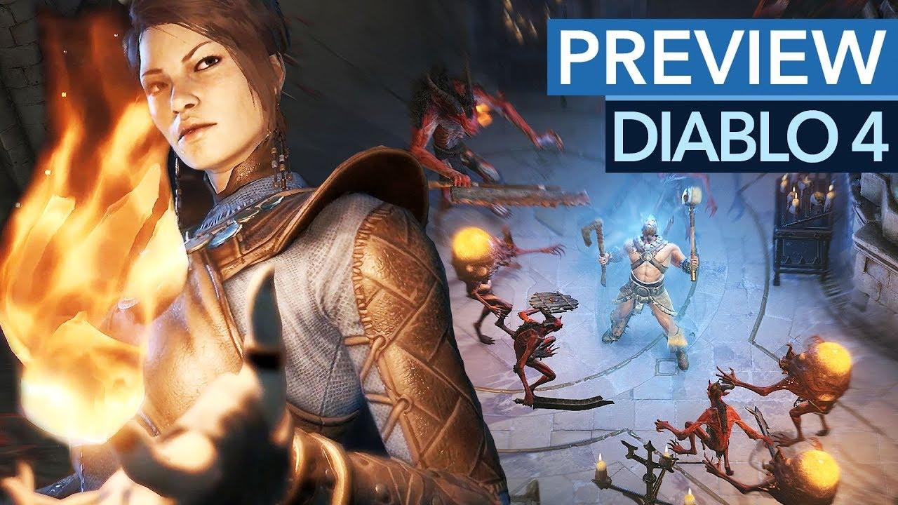 ANGESPIELT: Diablo 4 wird anders als ihr denkt! - Gameplay-Preview