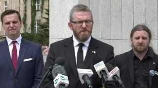 Interwencja posła Sośnierza w MSWiA ws. rządowego projektu dotyczącego prawa do posiadania broni