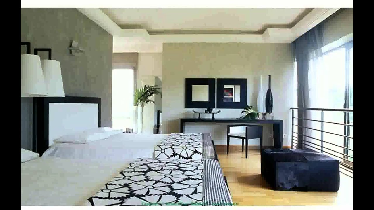 Interieur maison moderne youtube for Peinture design interieur