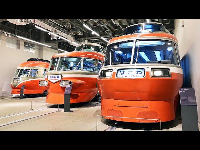 ロマンスカーミュージアム、出発進行 実物11両を展示