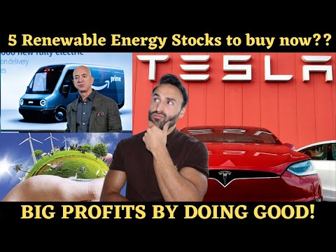 5 Best Ethical Stocks To Buy Now!? (Top Renewable Energy Stocks!)