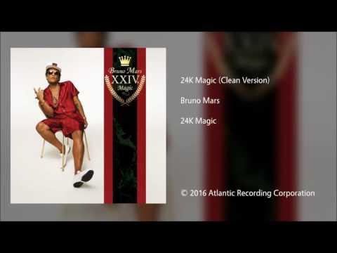 Bruno Mars | 24k Magic (clean)