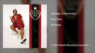 Video Bruno Mars | 24k Magic (clean) download MP3, 3GP, MP4, WEBM, AVI, FLV Oktober 2018