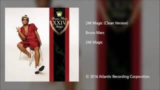 Download Bruno Mars | 24k Magic (clean) Mp3 and Videos