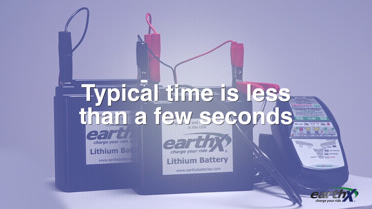 Battery Charging - EarthX Lithium Batteries - OEM LIthium Batteries