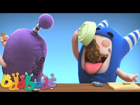 Oddbods Eat and Run