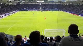 Erzgebirge Aue vs. 1. FC Magdeburg  Support