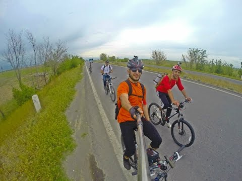 Cycling (relay Race), Sardarapat, Armenia (GoPro) HD